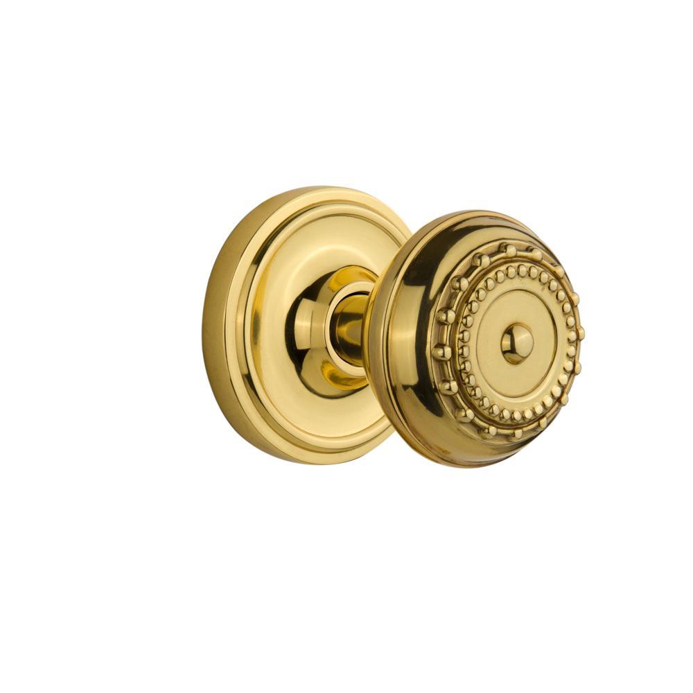 Defiant 2 1 4 In Solid Brass Door Knob 2 Per Pack 70382