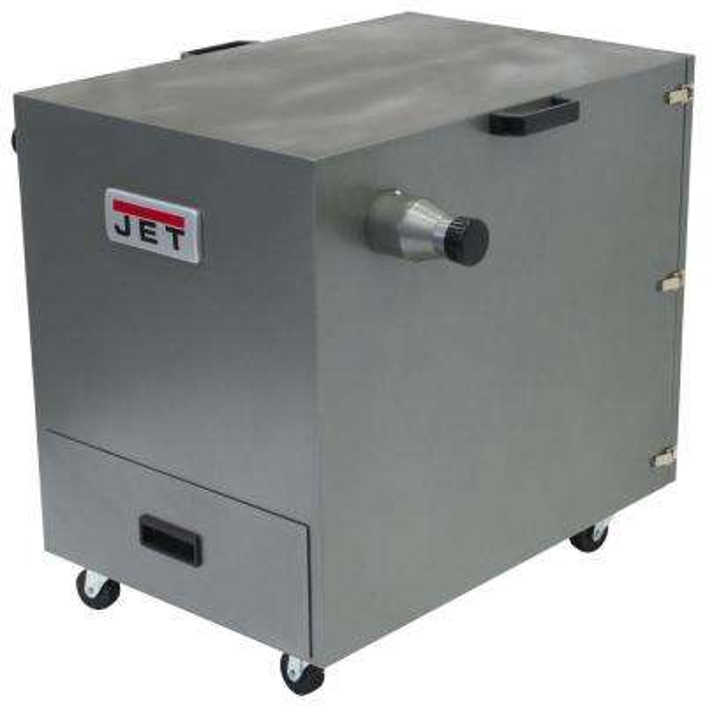 1.5 HP 490 CFM 4 in. Metal Dust Collector, 115/230-Volt, JDC-500