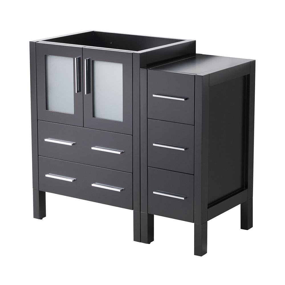 36 in. Torino Modern Bathroom Vanity Cabinet in Espresso