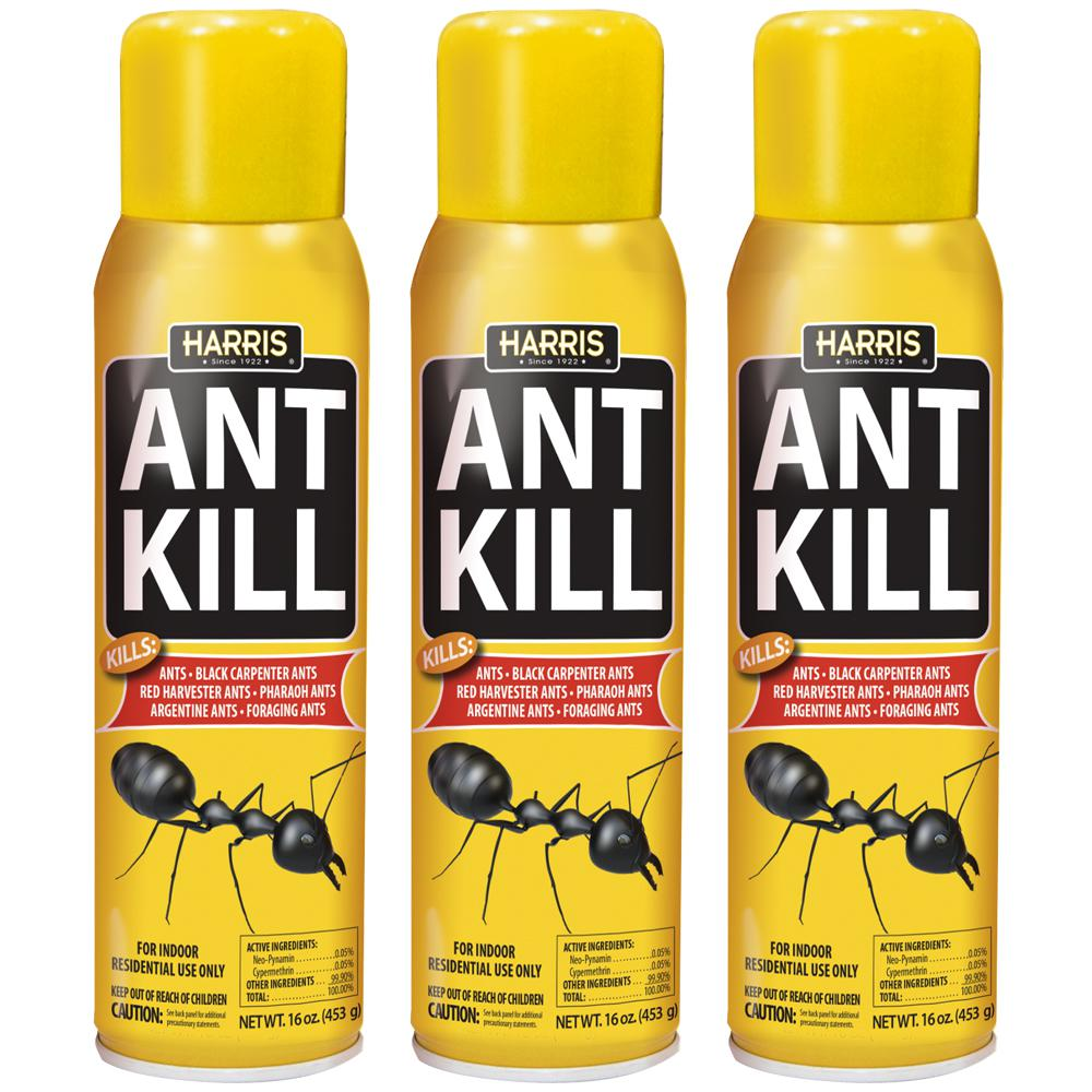 Harris 16 oz Ant Kill Spray 3Pack3ANT16 The Home Depot