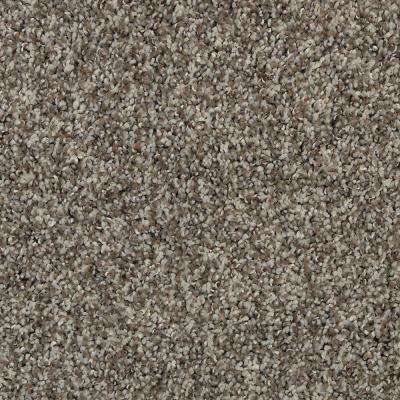 Carpet Sample - Barx II - Color White Wash Textured 8 in. x 8 in.