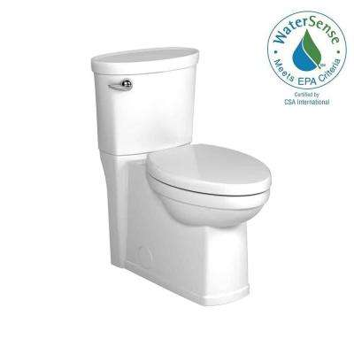 Cadet 3 Decor Tall Height 2-Piece 1.28 GPF Single Flush Elongated Toilet in White