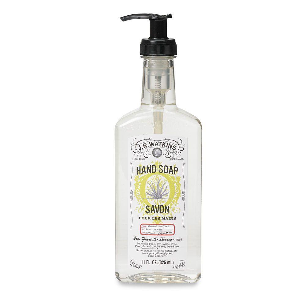 11 oz. Aloe and Green Tea Hand Soap