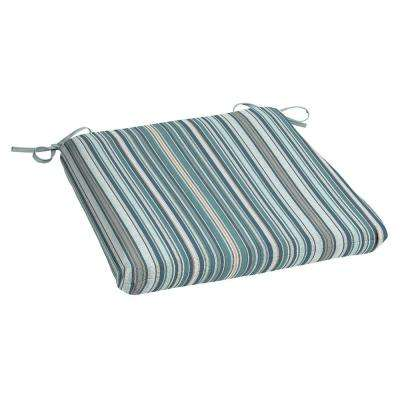 Charleston Stripe Rectangle Outdoor Seat Cushion