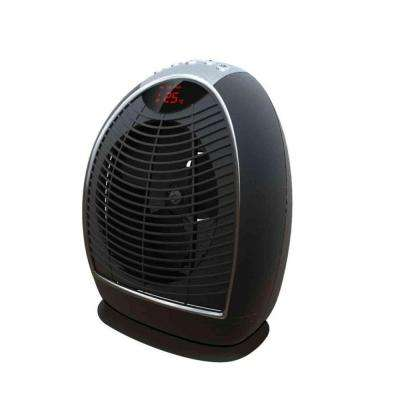 1500-Watt Digital Fan Forced Electric Portable Heater