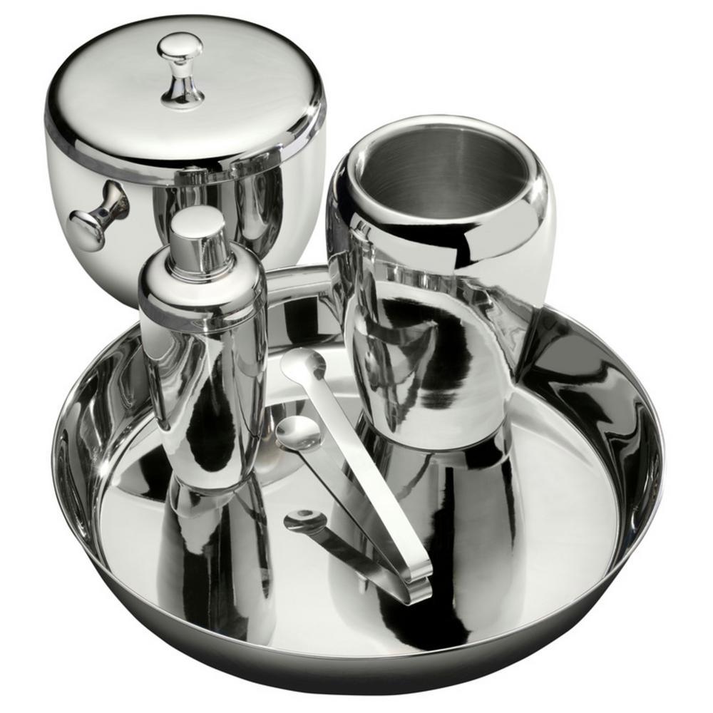 Apple 5-Piece Stainless Steel Bar Set