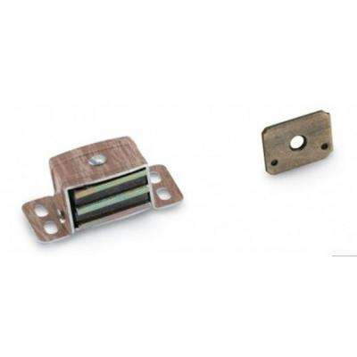 3/4 in. W x 1 in. H Aluminum Wood Magnetic Catch