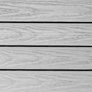 UltraShield Naturale 1 ft. x 1 ft. Quick Deck Outdoor Composite Deck Tile in Icelandic Smoke White (10 sq. ft. per box)