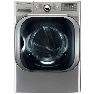 9.0 cu. ft. Gas Dryer with True Steam in Graphite Steel