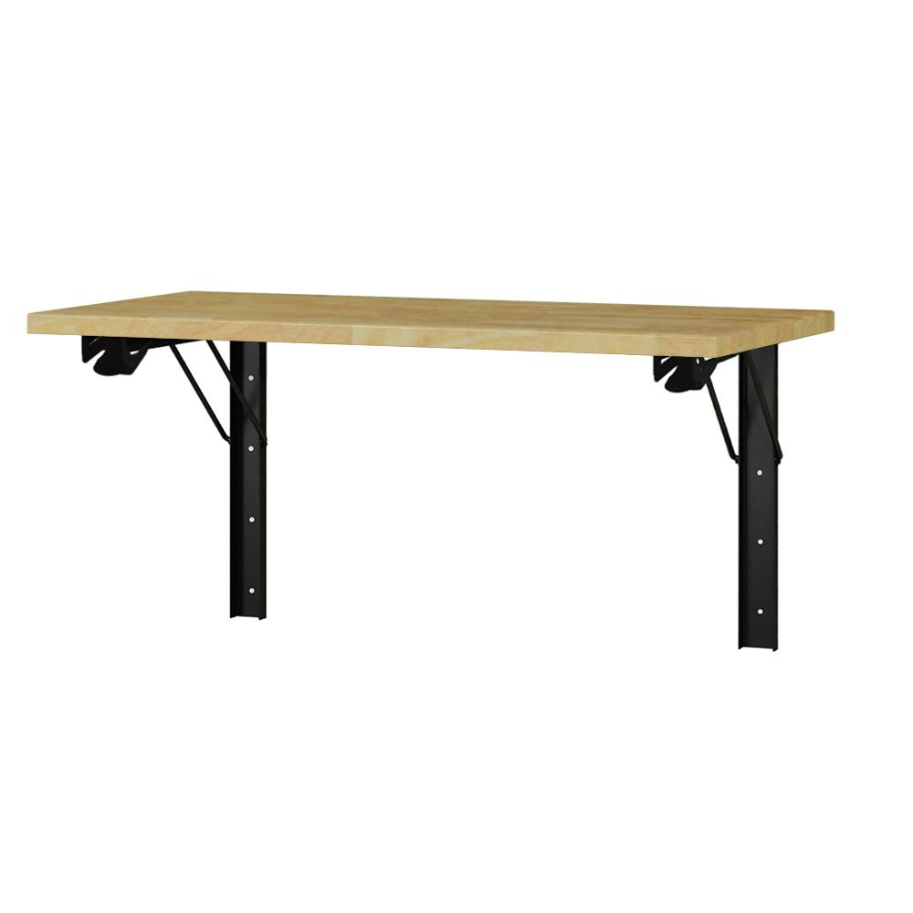 Folding Work Table Home Depot.Industrial 22 66 In H X 48 In W X 24 In D Steel And Wood