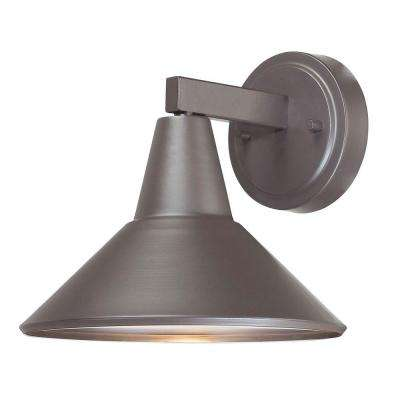 Bay Crest 1-Light Dorian Bronze Outdoor Wall Mount