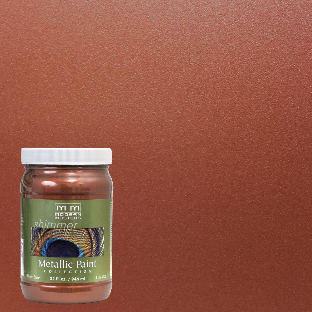 Antique Copper Water Based Satin Metallic Interior Exterior Paint