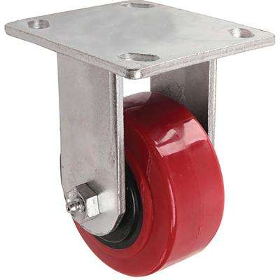 4 in. Polyurethane Rigid Caster with 600 lb. Load Rating