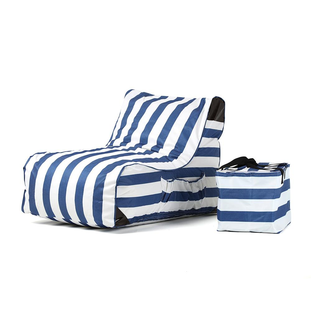 OVE Decors Paola Akiko Stripes Sling Outdoor Chaise Lounge