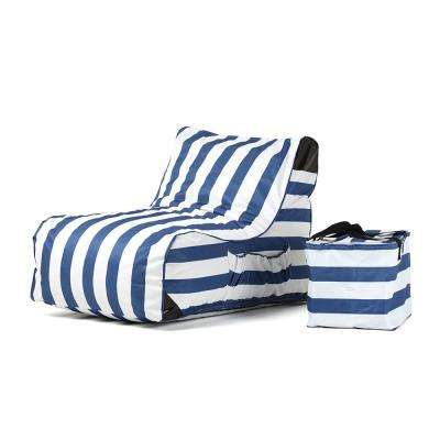 Paola Akiko Stripes Sling Outdoor Chaise Lounge