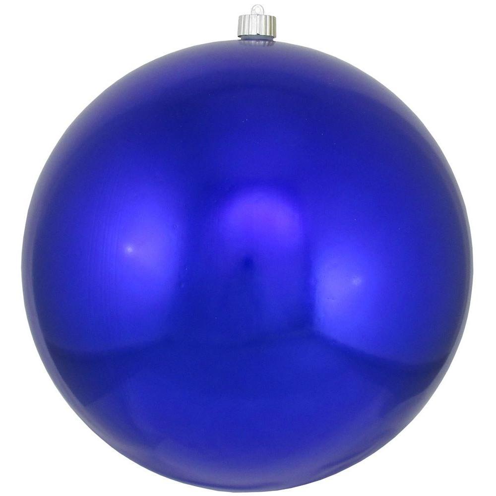 12 in. Azure Blue Shatterproof Ball (Set of 2)