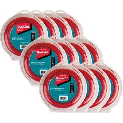 1 lbs. 0.105 in. x 230 ft. Round Trimmer Line in Red (12-Pack)