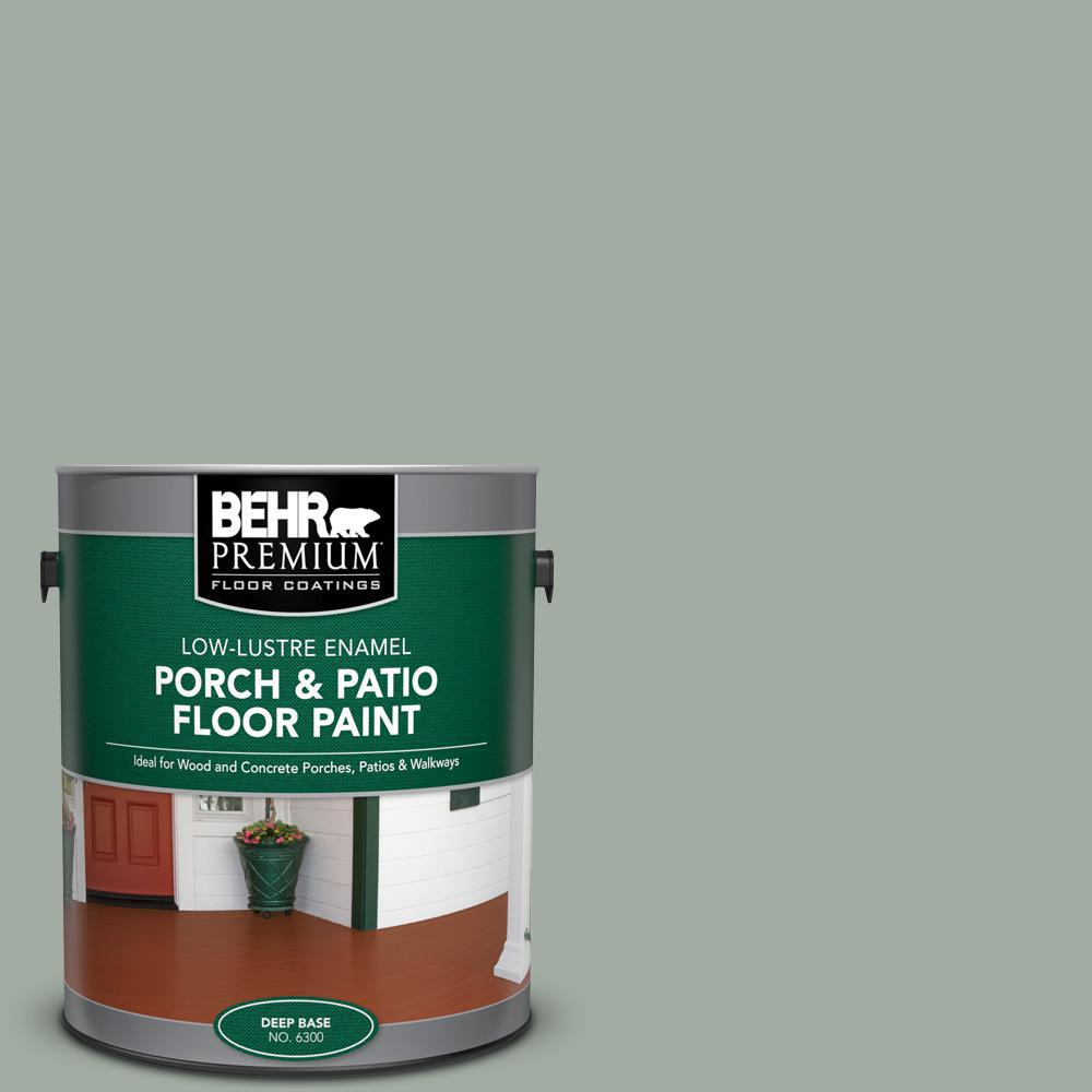 BEHR PREMIUM 1 gal. #PFC-42 Flintridge Low-Lustre Enamel Interior/Exterior Porch and Patio Floor Paint