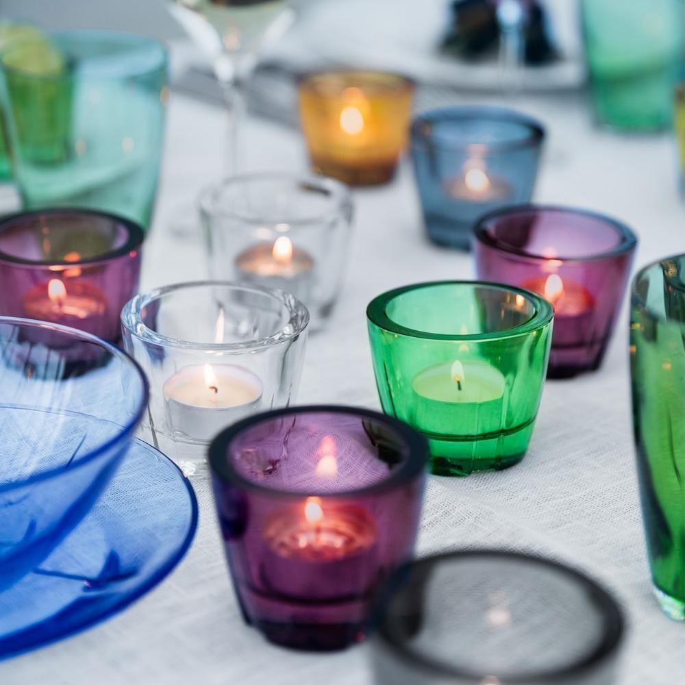 Bruk Votive/Anything Bowl in Aubergine Purple (Set of 6)