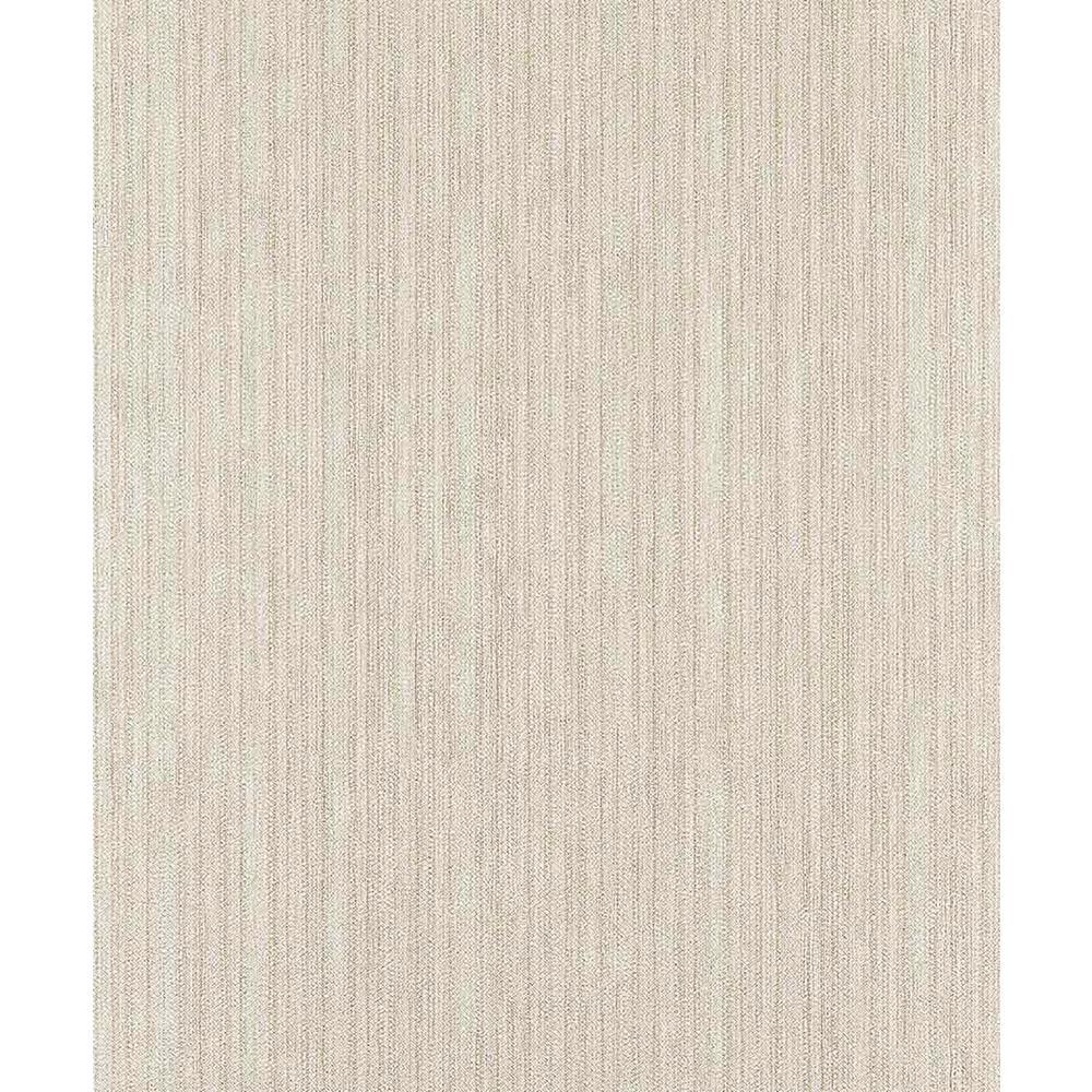 Brewster Unito Zeno Cream Fabric Texture Wallpaper Z1751
