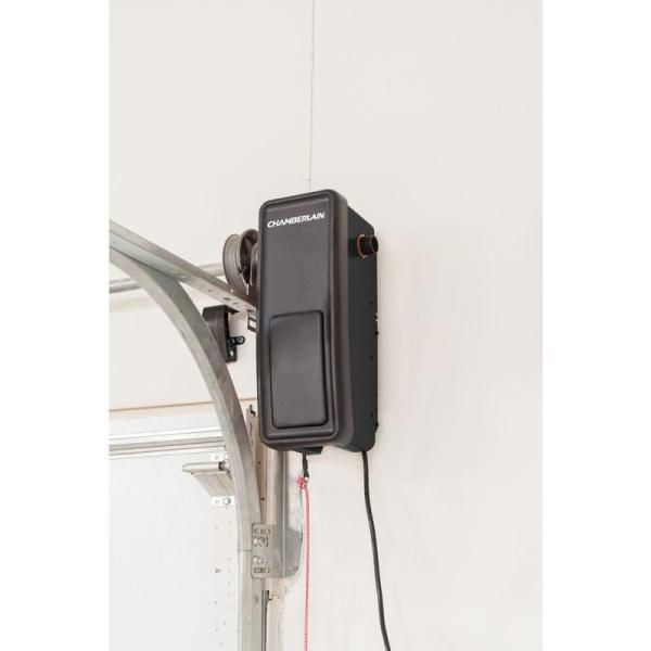 Chamberlain Wall Mounted Ultra Quiet Garage Door Opener Rjo20 The Home Depot