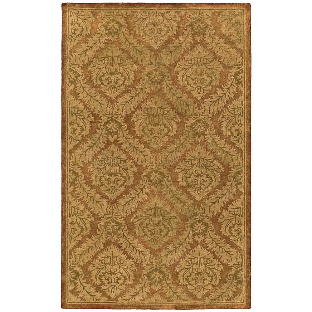 Kaleen Magi Golan Heights Copper 2 ft. x 3 ft. Area Rug