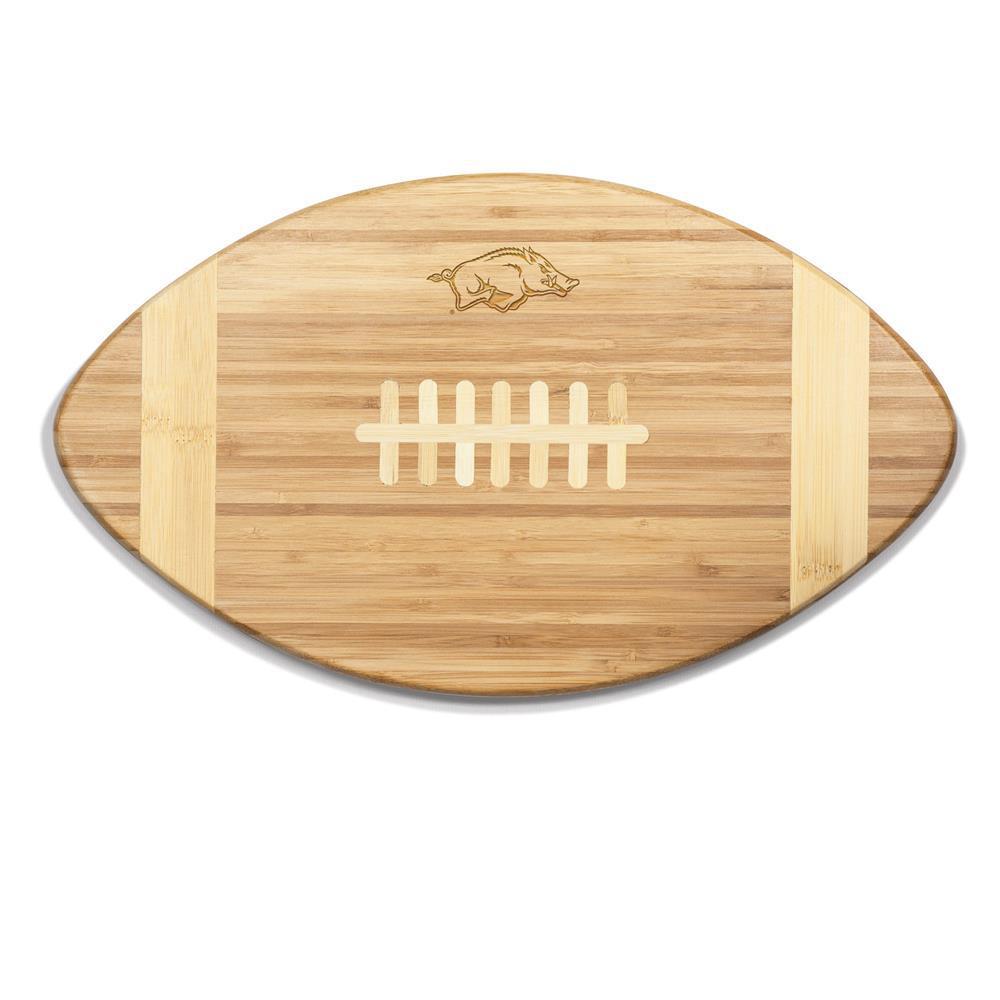 Arkansas Razorbacks Touchdown Bamboo Cutting Board
