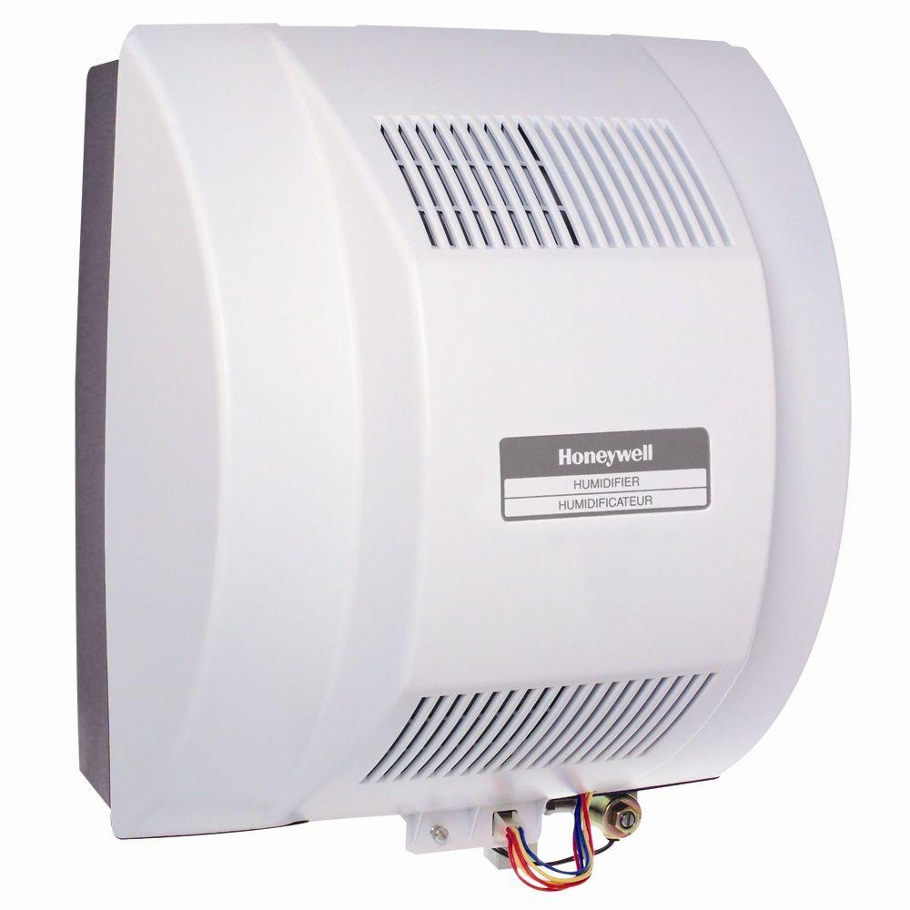 Honeywell Powered Flow-Through Whole House Humidifier-HE360A - The ...