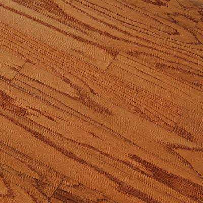 Oak Gunstock 3/8 in. Thick x 3 in. Wide x Random Length Engineered Hardwood Flooring (25 sq. ft. / case)