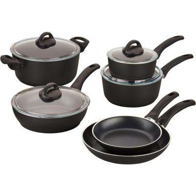 Pisa Forged Aluminum 10-Piece Non-stick Cookware Set