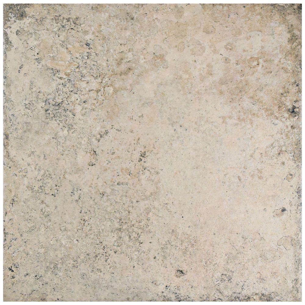 Fankuit Beige 11-7/8 in. x 11-7/8 in. Porcelain Floor and Wall