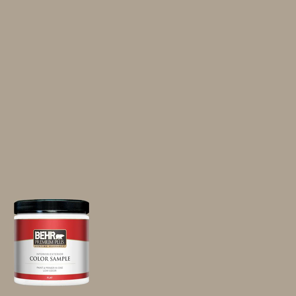Behr Premium Plus 8 Oz 730d 4 Garden Wall Flat Interior Exterior
