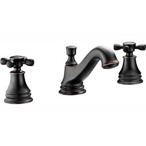 ANZZI Melody Series 8 in  Widespread 2-Handle Mid-Arc Bathroom Faucet in  Oil Rubbed Bronze-L-AZ007ORB - The Home Depot