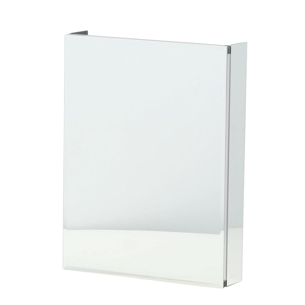 Pegasus 20 In. X 26 In. Recessed Or Surface Mount Bathroom Medicine Cabinet