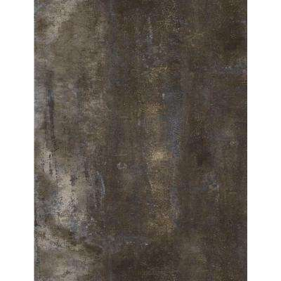 Brown Stone 12 in. x 24 in. Peel and Stick Vinyl Tile