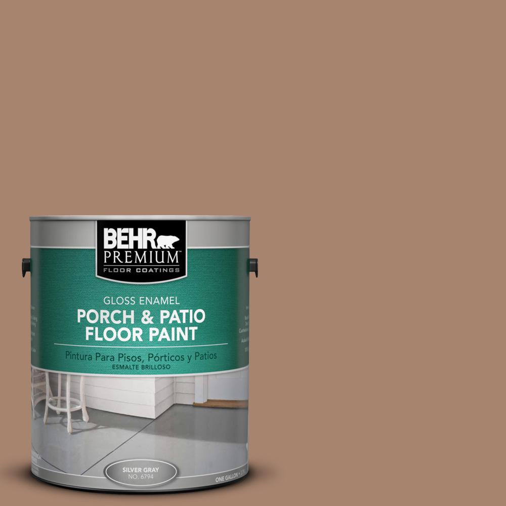 1 gal. #ECC-59-1 Antique Chest Gloss Porch and Patio Floor Paint