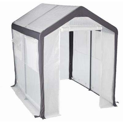 6 ft. W x 8 ft. L Large Gable Greenhouse