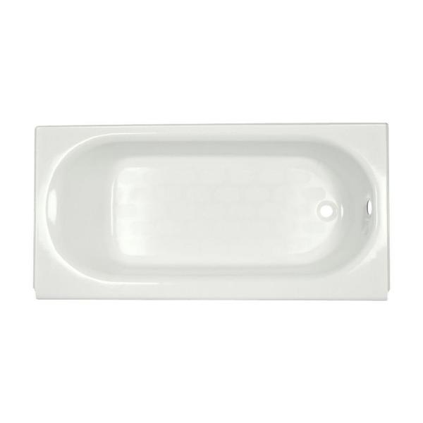 Princeton 60 in. x 30 in. Americast Apron-Front Bathtub with Right Hand Drain