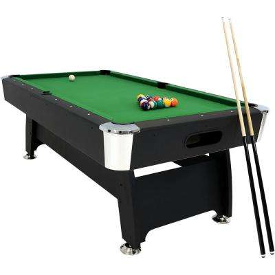 7 ft. Pool Table with Ball Return
