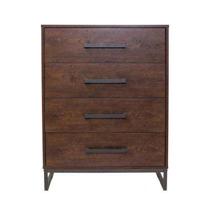Lincoln 4-Drawer Reclaimed Cherry Chest