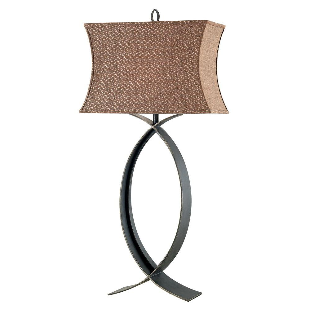 Pisces 32 in. Oil-Rubbed Bronze Table Lamp