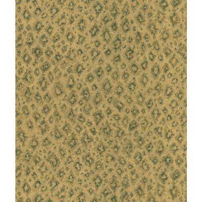 Light Brown Jaguar Print Wallpaper Sample