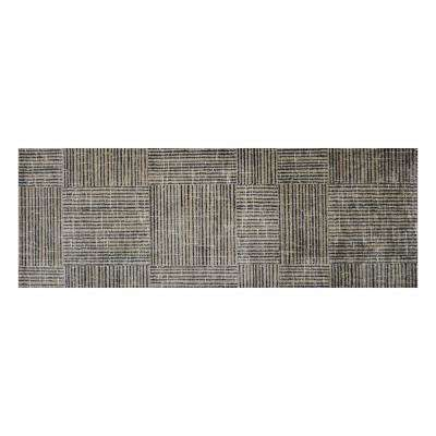 In-Home Washable/Non-Slip Canvas 2 ft. 3 in. x 6 ft. 3 in. Runner Rug