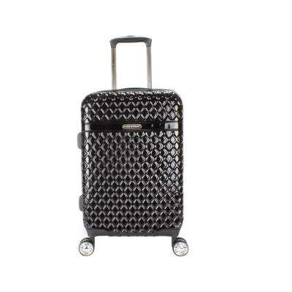Yasmine 22 in. Black Hard Side Spinner Luggage