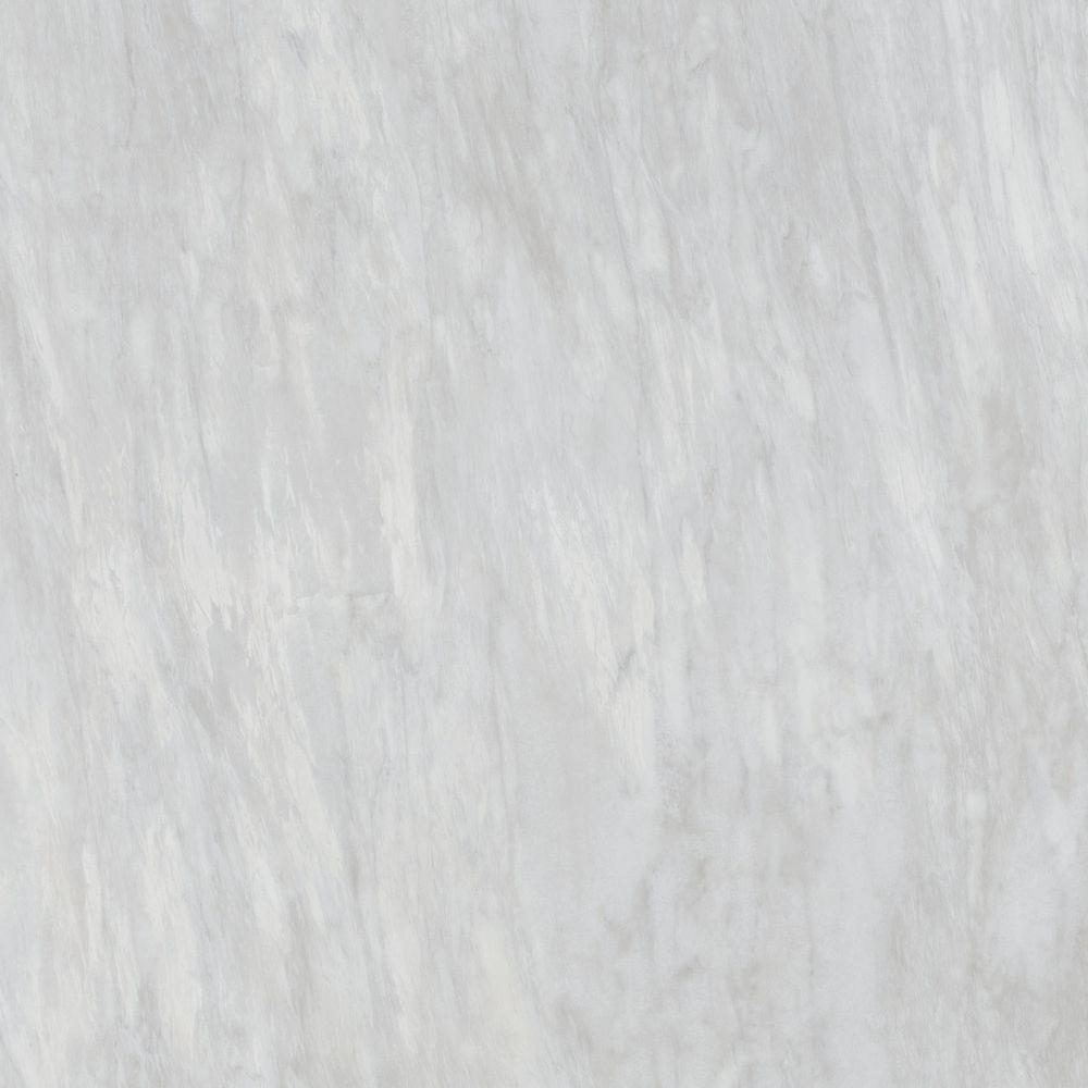TrafficMASTER Allure 12 in. x 24 in. Light Carrara Luxury Vinyl Tile ...