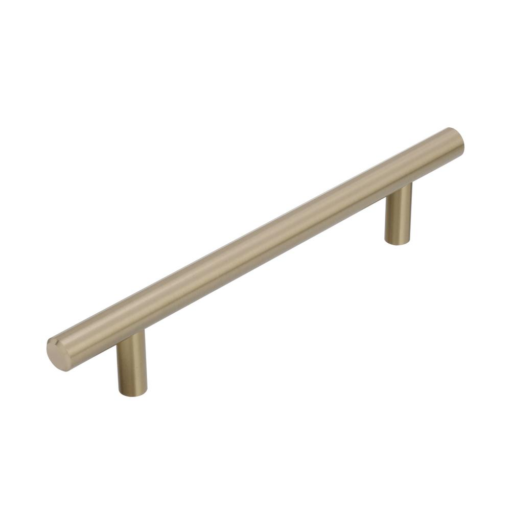 Amerock Bar Pulls 5-1/16 in (128 mm) Center-to-Center Golden Champagne Cabinet Drawer Pull