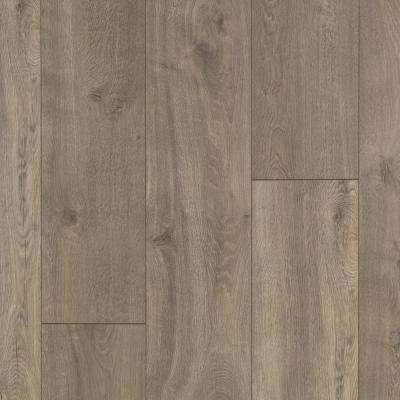 Take Home Sample - Urban Putty Oak Laminate Flooring - 5 in. x 7 in.
