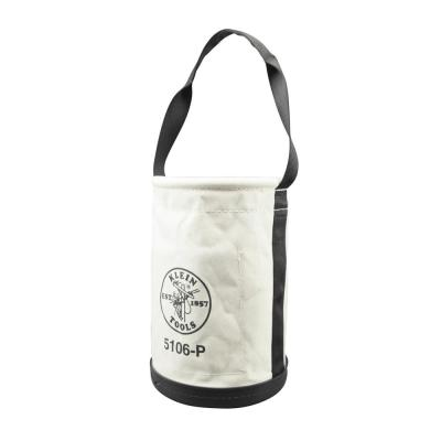 9 in. Straight-Wall Tool Bucket with Inside Pockets