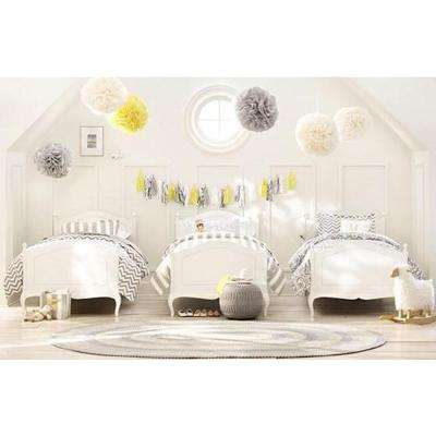 Verdiana Kids Caffe Latte Twin Size Bed
