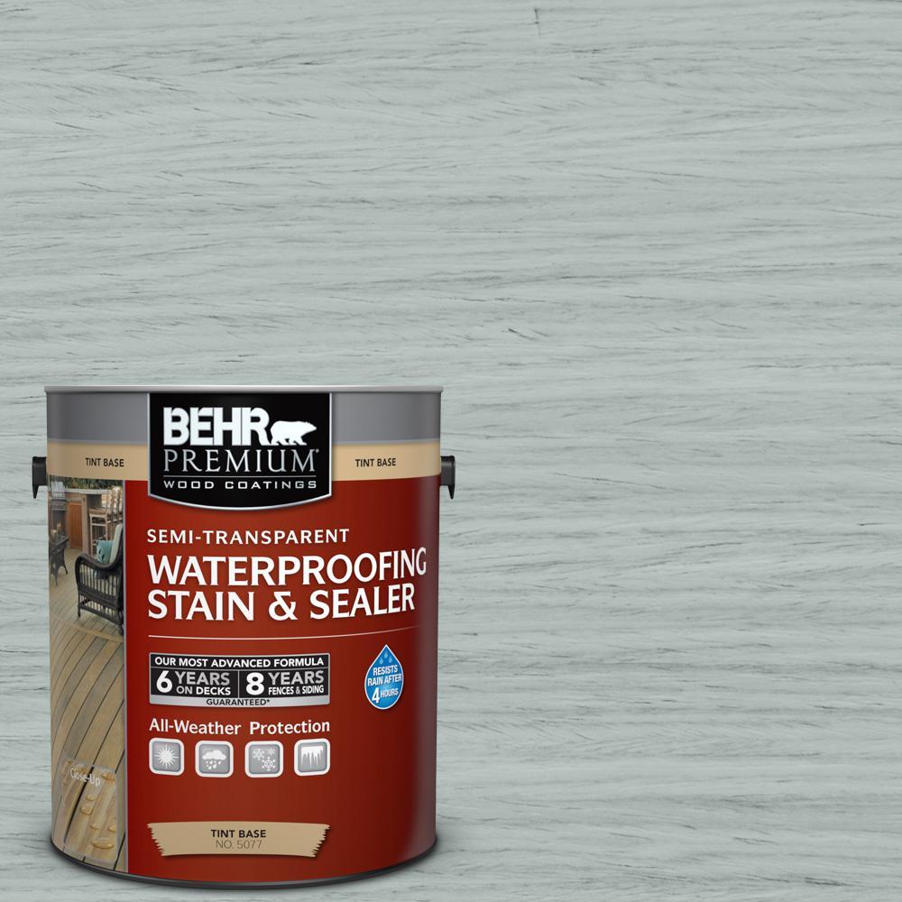 Behr Premium 1 Gal St 365 Cape Cod Gray Semi Transparent